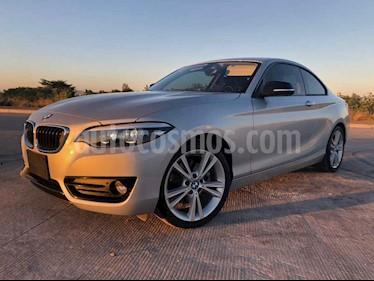 BMW Serie 2 2p 220i Coupe Sport Line L4/2.0/T Aut usado (2019) color Plata precio $450,000