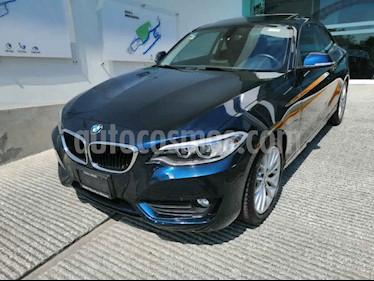 BMW Serie 2 2p 220i Coupe L4/2.0/T Aut usado (2016) color Azul precio $300,000