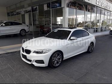 BMW Serie 2 M235iA M Sport Aut usado (2016) color Blanco Mineral precio $445,000