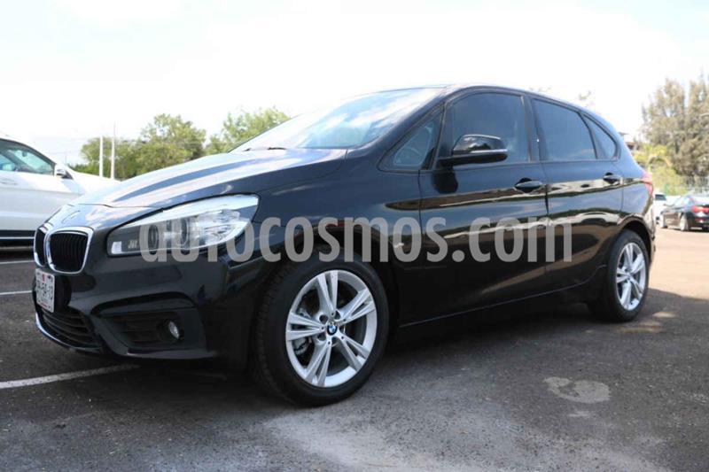 BMW Serie 2 Active Tourer 220iA Aut usado (2016) color Negro precio $295,000