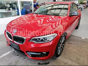 BMW Serie 2 220iA Sport Line Aut usado (2017) color Rojo Melbourne precio $330,000