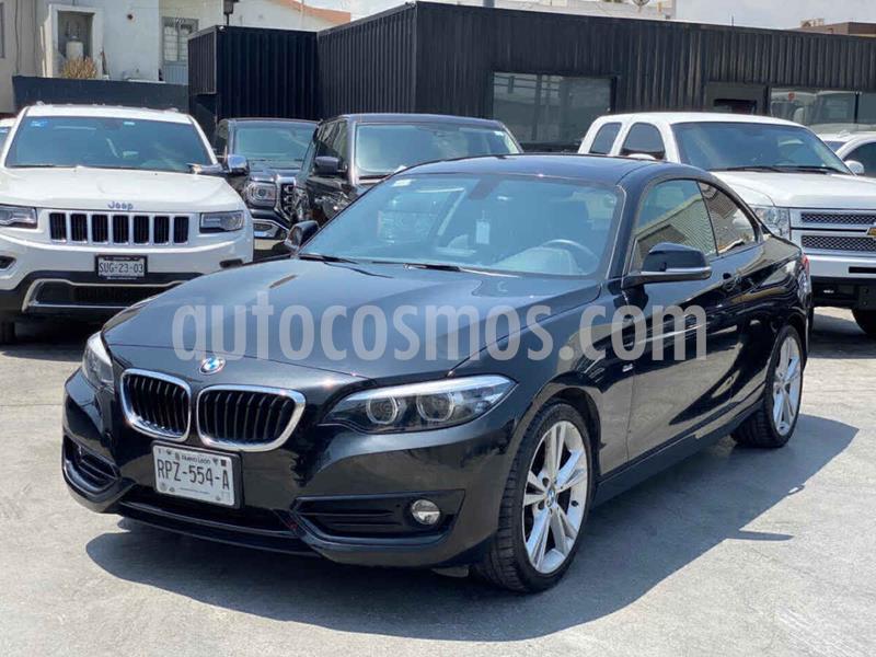 BMW Serie 2 220iA Sport Line Aut usado (2018) color Negro precio $430,800