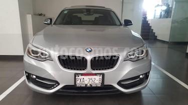 BMW Serie 2 2P 220I COUPE SPORT LINE L4/2.0/T AUT usado (2017) color Plata precio $375,000