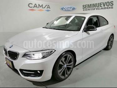 BMW Serie 2 2p 220i Coupe Sport Line L4/2.0/T Aut usado (2016) color Blanco precio $359,900