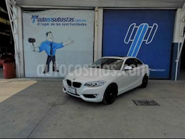 BMW Serie 2 2p 235i Coupe M Sport L6/3.0/T Aut usado (2016) color Blanco precio $150,000