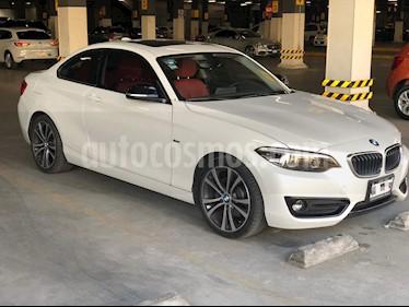 BMW Serie 2 220iA Sport Line Aut usado (2018) color Blanco Mineral precio $430,000