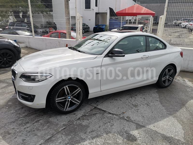 BMW Serie 2 220iA Sport Line Aut usado (2017) color Blanco Alpine precio $370,000