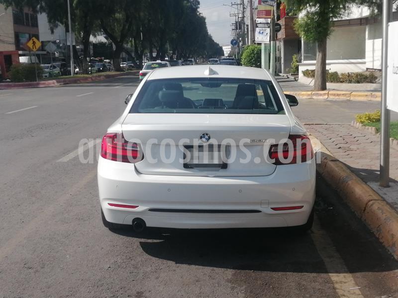BMW Serie 2 220iA Sport Line Aut usado (2016) color Blanco Alpine precio $310,000
