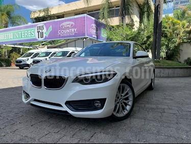 BMW Serie 2 220iA Aut usado (2018) color Blanco precio $439,000