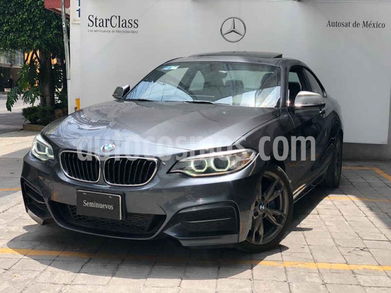 BMW Serie 2 M235iA M Sport Aut usado (2016) color Gris precio $440,000