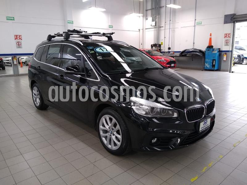 BMW Serie 2 Gran Tourer Luxury Line 220iA Aut usado (2017) color Negro precio $350,000