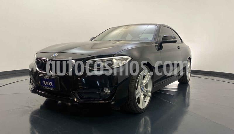 BMW Serie 2 220iA Convertible Sport Line Aut usado (2016) color Negro precio $344,999