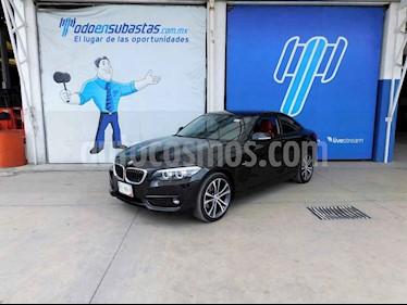 BMW Serie 2 2p 220i Coupe Sport Line L4/2.0/T Aut usado (2018) color Negro precio $290,000