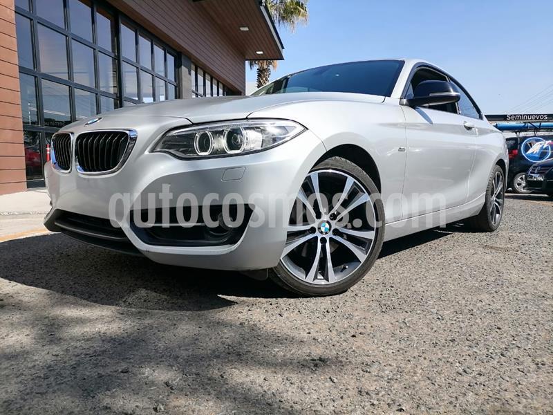 BMW Serie 2 220iA Sport Line Aut usado (2017) color Plata Hielo precio $345,000