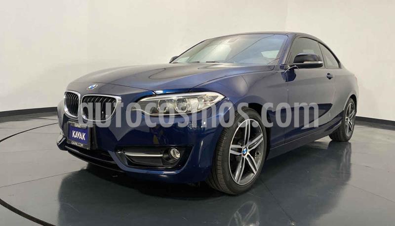 BMW Serie 2 220iA Convertible Sport Line Aut usado (2016) color Azul precio $344,999