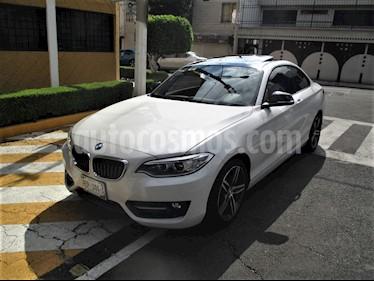 BMW Serie 2 220iA Sport Line Aut usado (2015) color Blanco Alpine precio $299,900
