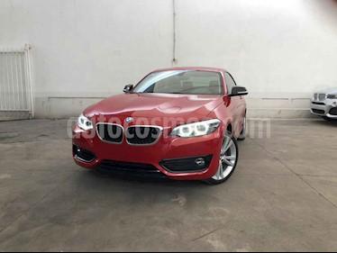 BMW Serie 2 2p 220i Coupe Sport Line L4/2.0/T Aut usado (2019) color Rojo precio $505,000