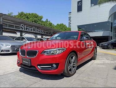 BMW Serie 2 2p 220i Coupe Sport Line L4/2.0/T Aut usado (2015) color Rojo precio $325,000