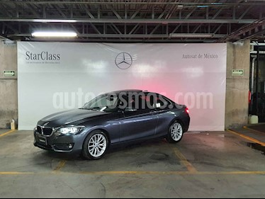 BMW Serie 2 2p 220i Coupe Executive L4/2.0/T Aut usado (2018) color Gris precio $459,000