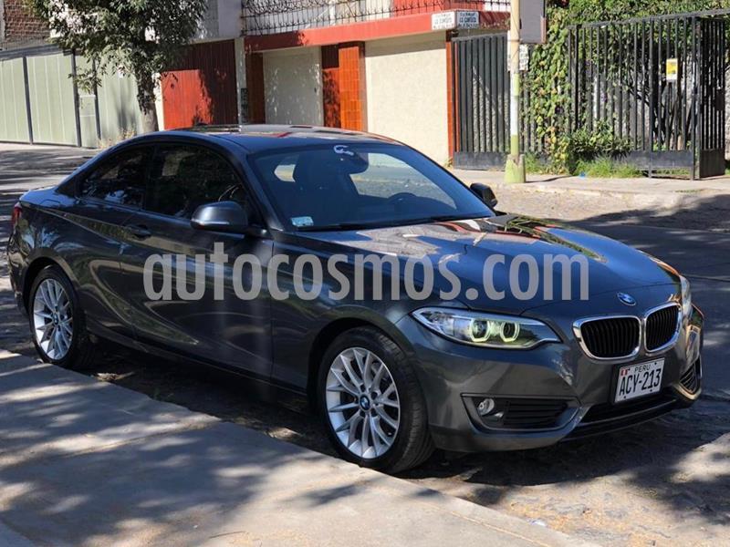 BMW Serie 2 220i Sport Line usado (2015) color Gris precio u$s22,500