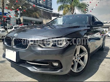 Foto venta Auto usado BMW Serie 3 320i Sport Line (2017) color Gris precio $404,900