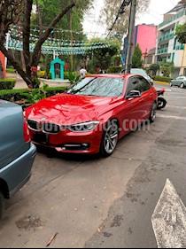 Foto BMW Serie 3 320i Sport Line  usado (2015) color Rojo precio $320,000