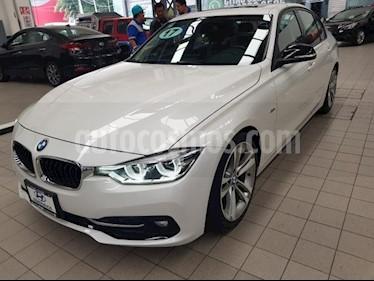 BMW Serie 3 4p 330i Sport Line L4/2.0/T Aut usado (2017) color Blanco precio $445,000