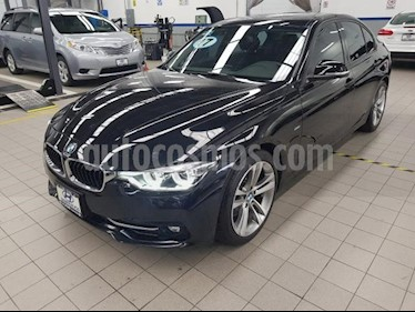 Foto venta Auto usado BMW Serie 3 4p 330i Sport Line L4/2.0/T Aut (2017) color Negro precio $495,000
