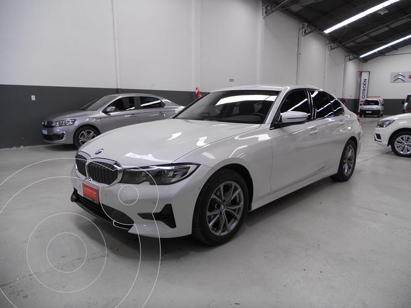 Foto BMW Serie 3 320i SportLine Aut usado (2020) color Blanco precio $7.350.400