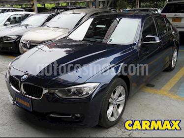 BMW Serie 3 320i Aut usado (2014) color Azul precio $67.900.000