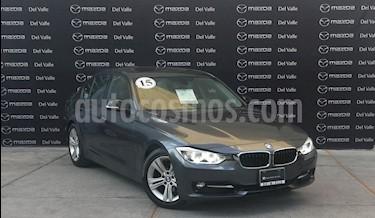 BMW Serie 3 320i Sport Line  usado (2015) color Gris Mineral precio $325,000