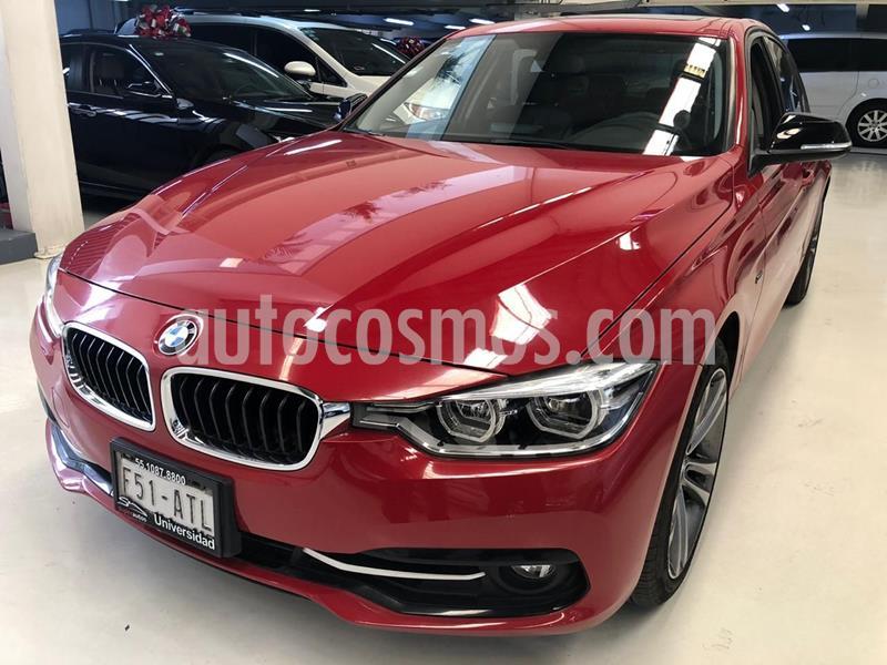 BMW Serie 3 320iA Sport Line usado (2018) color Rojo precio $424,100