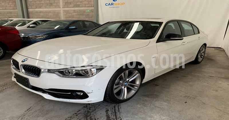 BMW Serie 3 330iA M Sport usado (2018) color Blanco precio $334,900