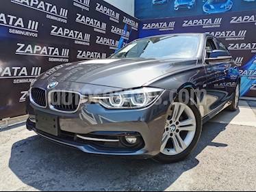 BMW Serie 3 320i Sport Line  usado (2017) color Gris Mineral precio $360,000