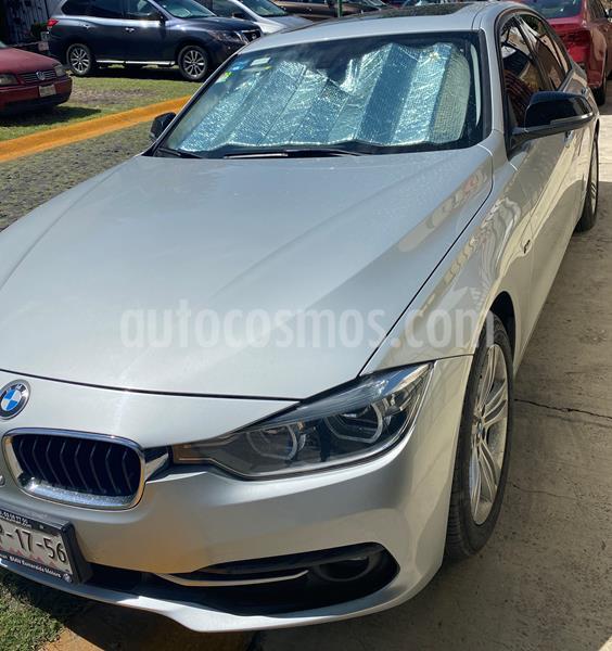 BMW Serie 3 320i Sport Line  usado (2016) color Plata precio $295,000