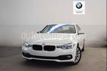 BMW Serie 3 4p 320i Executive L4/2.0/T Aut usado (2018) color Blanco precio $545,000