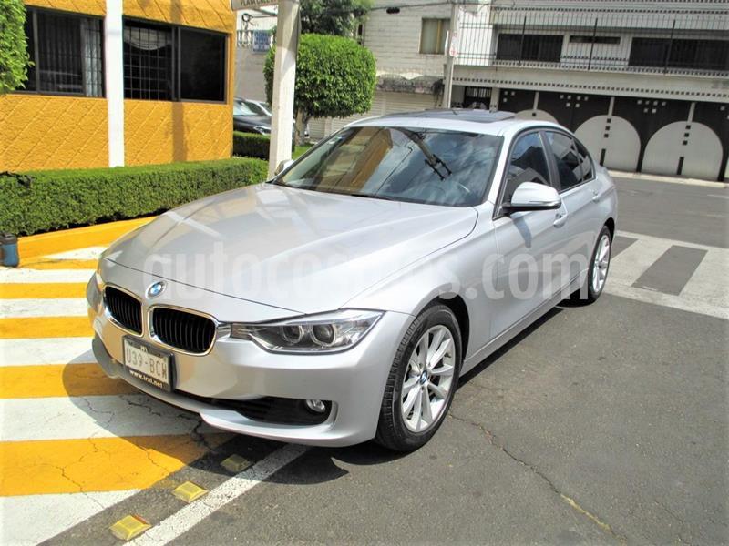 BMW Serie 3 328i Luxury Line usado (2014) color Plata Titanium precio $239,899