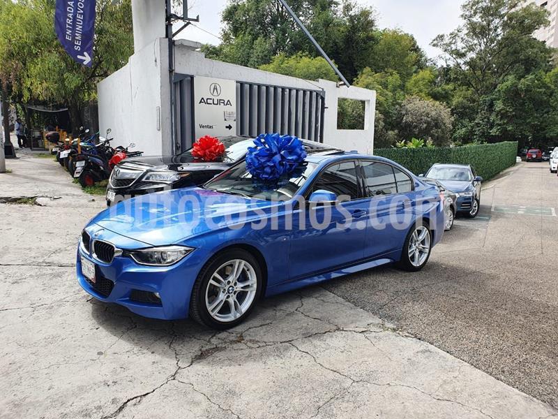 BMW Serie 3 320iA Sport Line usado (2014) color Azul precio $310,000