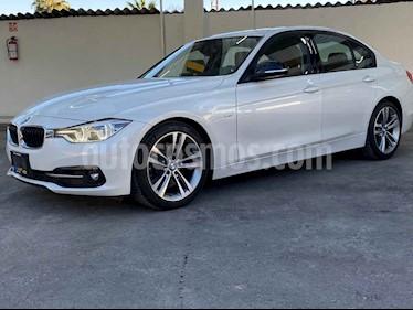 BMW Serie 3 4p 330i Sport Line L4/2.0/T Aut usado (2018) color Blanco precio $399,900