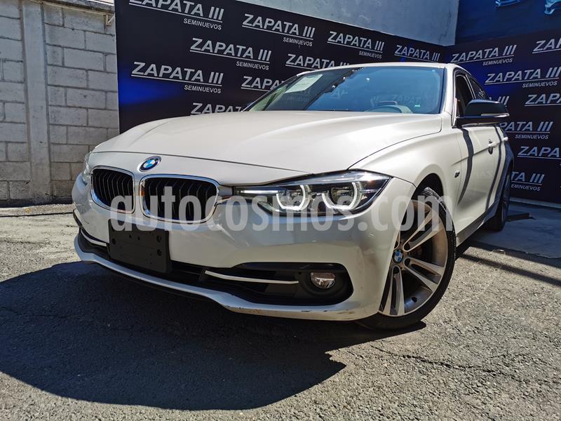 BMW Serie 3 330iA Sport Line usado (2017) color Blanco precio $405,000