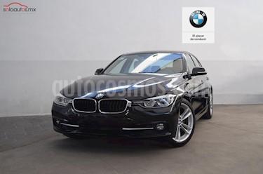 BMW Serie 3 4p 330i Sport Line L4/2.0/T Aut usado (2017) color Negro precio $540,000