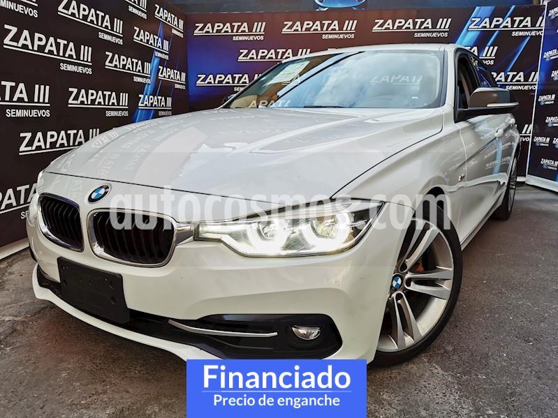 BMW Serie 3 320i Sport Line  usado (2017) color Blanco Alpine precio $106,250