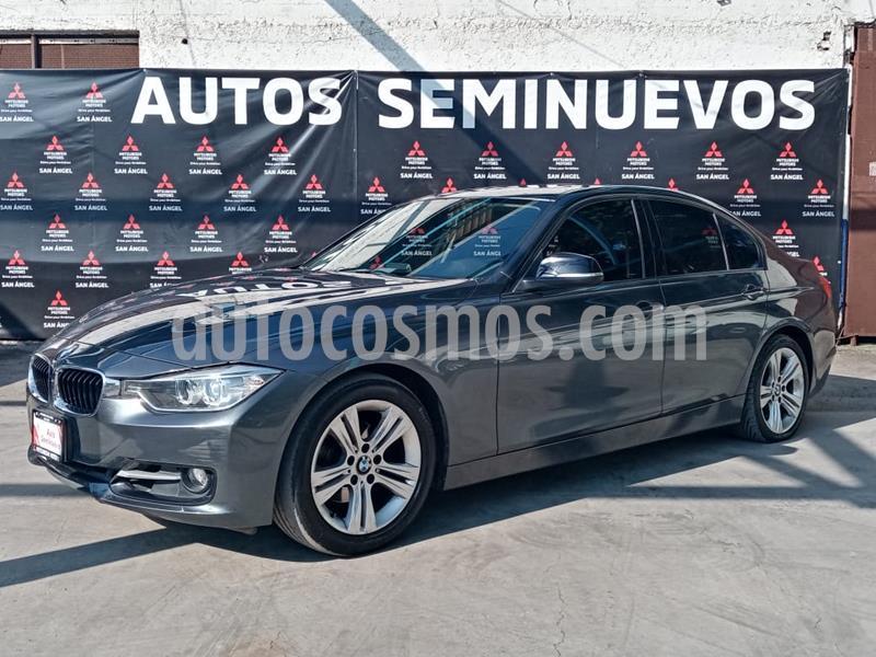 Foto BMW Serie 3 320iA Sport Line usado (2015) color Gris Mineral precio $279,000