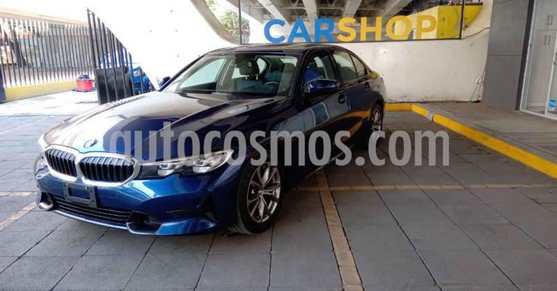 BMW Serie 3 320iA Sport Line usado (2020) color Azul precio $574,900
