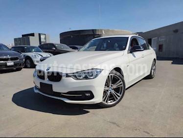 BMW Serie 3 4p 330i Sport Line L4/2.0/T Aut usado (2018) color Blanco precio $460,000