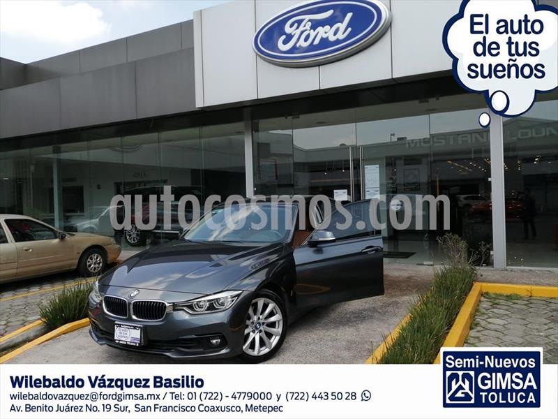 BMW Serie 3 330e Luxury Line (Hibrido) Aut usado (2017) color Gris Oscuro precio $419,000