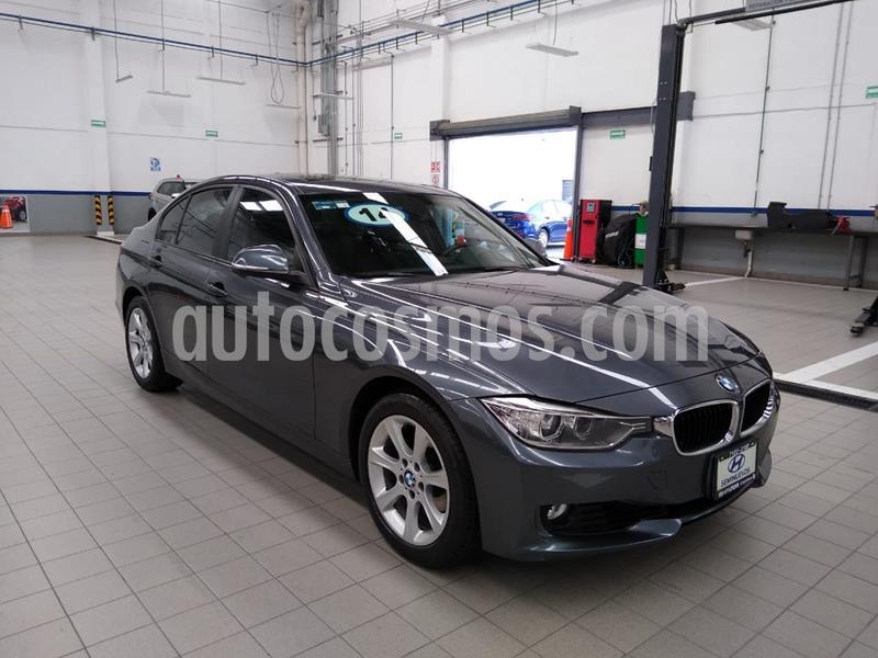 BMW Serie 3 320iA usado (2014) color Gris Oscuro precio $250,000