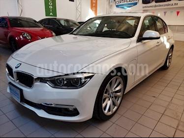 BMW Serie 3 330e Luxury Line (Hibrido) Aut usado (2017) color Blanco precio $459,500