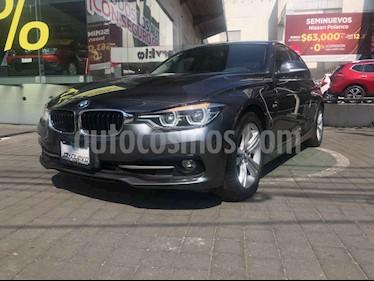 BMW Serie 3 4p 320i Sport Line L4/2.0/T Aut usado (2016) color Gris precio $339,000