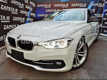 BMW Serie 3 320i Sport Line  usado (2017) color Blanco Alpine precio $436,000